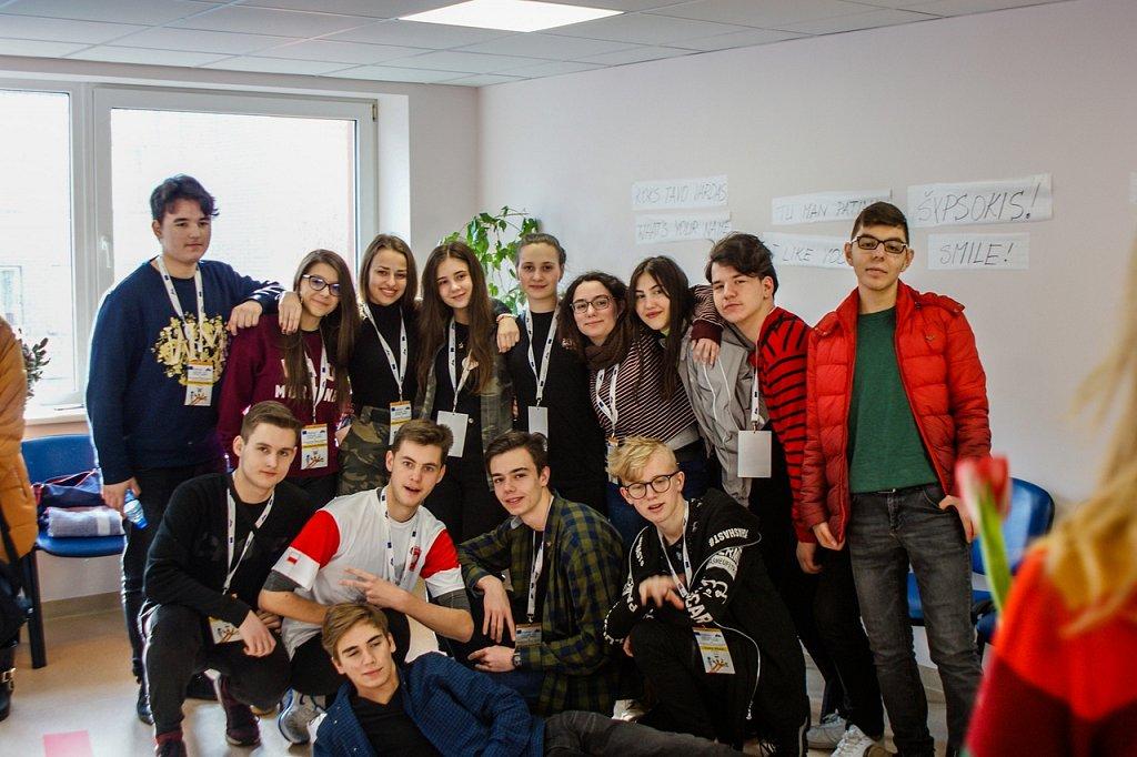 2018-03-09 Erasmus +. Wyjazd na Litwę.
